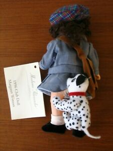 Madame Alexander Doll Margaret Winson 79653 DOG BITING POST LADY