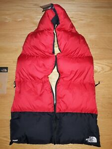 NEW The North Face Unisex Nuptse 700 Fill Down Scarf  NF0A3FMI
