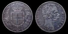 pci1146) Regno d'Italia Umberto I lire 5 scudo 1879
