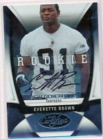 EVERETTE BROWN - 2009 Certified Rookie Auto FSU Panthers /299