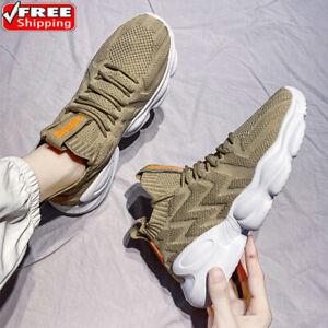 Men's Running Shoes Outdoor Non-slip Comfortable Tennis Walking Casual Sneakers