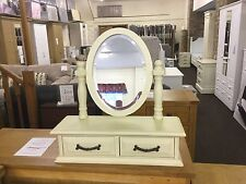 Shabby Chic Victorian Trinket Dressing Table Mirror.