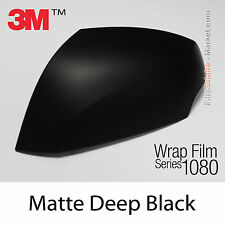 20x30cm FILM Matte Deep Black 3M 1080 M22 Vinyle COVERING New Series Wrap Film