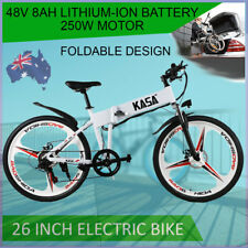 """KASA 26"""" Electric Foldable Bicycle Comfortable With 48V 8Ah 250w Powerful Motor"""