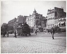 Le Moulin rouge Paris Montmartre circa 1900 Tirage postérieur circa 1950