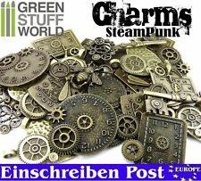 Perlen uhr ANHÄNGER Steampunk-Sets mit Zahnräder für Bastler - 85 gr - Schmuck