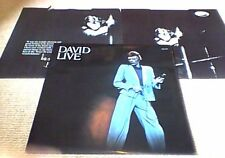 DAVID BOWIE DAVID LIVE In Philapelphia 1974 1st RCA UK GF 2LP 1974 Michael Kamen