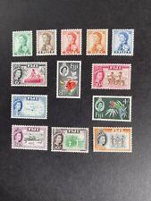 Fiji 1959-63 Definitives Mint Never Hinged.