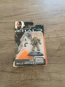 Halo Heroes: Sergeant Forge, Mega Bloks, Unopened.