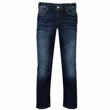 GIN TONIC Damen Jeans Slim Fit Dark Wash 5-Pocket Jeans