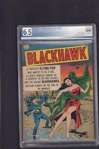 Blackhawk #32 - Aug , 1950 -   5.5 - Graded