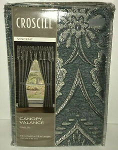 """Croscill Canopy Valance Vincent 54"""" Wide x 19"""" Length Top Treatment New $100"""