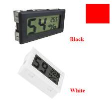 Tiny Digital LCD Indoor Temperatur Luftfeutigkeit Messer Thermometer Hygrometer