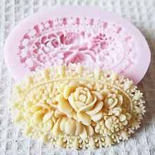 3D Flower Silicone Mold Fondant Molds