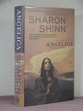 1st,signed by 2(author,artist Palencar),Samaria 4:Angelica by Sharon Shinn(2003)