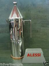 ALESSI -  CAFFETTIERA 90002/3-LA CONICA-TAZZE 3-ACCIAIO 18/10 fondo rame