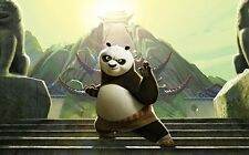 NEW LARGE KUNG-FU PANDA PO MOVIE FILM HOME WALL ART PICTURE PRINT PREMIUM POSTER