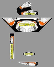 CRG STYLE ROTAX RADIATOR STICKER KIT - KARTING