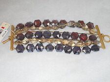Kenneth Cole New York Modern Violet Glass Bead Bracelet