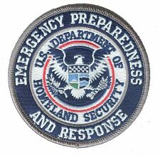 "HOOK/LOOP D35EPRcolor Homeland Security Emergency Preparedness DHS 3.5"" patch"
