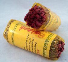 2 Packages Incense Lumbini Rolled Rope 40 Piece per Package - Handmade in Nepal