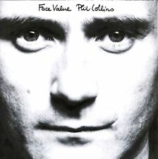 PHIL COLLINS face value (CD album, no barcode, early issue) pop rock