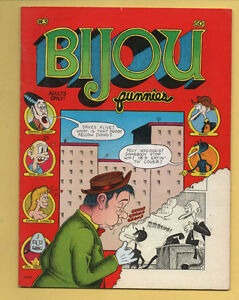 Bijou Funnies #3 The Print Mint 1969 1st Printing Deitch, Williamson FN/VF
