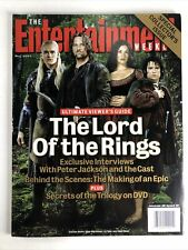 Entertainment Weekly May 2004 LOTR edition PETER JACKSON Cast Production Costume