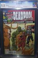 DEADPOOL #45 CGC 9.8 NM/MT! ONE MINUTE LATER VARIANT AVENGERS #1 HOMAGE! DEATH!
