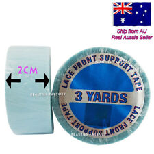 3 Yards 2cm Width 2-sided Lace Front Support Wig Hair Extension Super Tape 986N