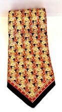 Vitaliano Pancaldi Men's Multi-Colored Geometric 100% Silk Necktie Italy