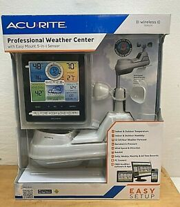 AcuRite Professional 5 In 1 Color Weather Center With Wireless Sensor