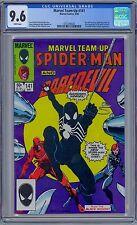 MARVEL TEAM-UP #141 - CGC 9.6 WP NM+ 1st Symbiote Black Costume Venom