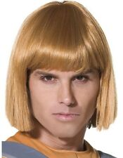 80s 1980s Mens He-Man Fancy Dress Wig Licensed He Man Wig by Smiffys New