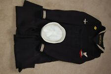 WW2 US NAVY AIRCREW UNIFORM JACKET, TROUSERS, HAT, INSIGNIA, BADGES