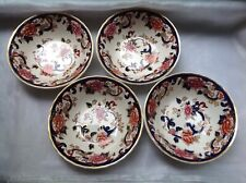 MASON'S BLUE MANDALAY BOWLS VINTAGE MASONS LOVELY SET OF 4