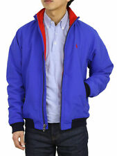 Polo Ralph Lauren Nylon Jacket Coat w/ Fleece Lining - Royal w/ red