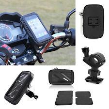 Waterproof GPS SAT NAV Case Bag Mount Holder Motorbike motorcycle Bike New
