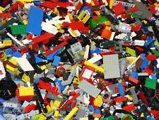 LEGO 1kg gemischt Kiloware Konvolut Classic Basic Steine Platten + Figur
