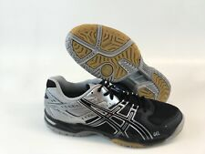 ASICS Gel-rocket 6 Mens Volleyball Shoes B207N Black/silver Size 9 - 10