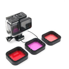 Diving Filter Underwater Red Magenta Snorkel Color Filters for GoPro HERO 5 6 7