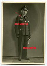 Foto Portrait Luftwaffe Beamter mit Dolch Fürstenwalde Spree