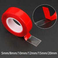 3M x 5,8,10,12,20 MM Vehicle Double Sided Sticker Adhesive Acrylic Sticker Tape