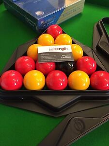 """THE SUPREME """"MATCH TRIANGLE** from SUPERPOOL for  2"""" Balls"""