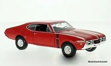 Oldsmobile 442 1968 ROSSO - 1:24 Welly >> NEW <<