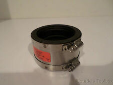 "New Mission Rubber Co. 3"" XHCI/PL to 3"" SS Band-Seal Coupling, PS 33"