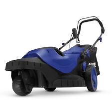 Sun Joe MJ404E-360 Degree Electric Lawn Mower | 3-Wheels | 16-In | 12-Amp | Blue
