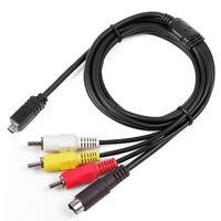 A//V de Audio Video Av Tv Cable Cable de plomo para Canon DV Mini Videocámara Hd STV-250//N