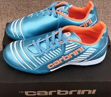 NEW Carbrini Coppa Junior Football Boot Blue Orange Size 2
