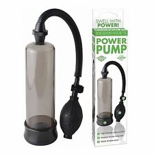 Pompa per Pene PIPEDREAM Beginner's Power Pump - Grigio